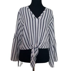 🖤Anthropologie Lavender Fields Boho top blouse